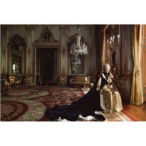 queen elizabeth ii buckingham palace london by annie leibovitz