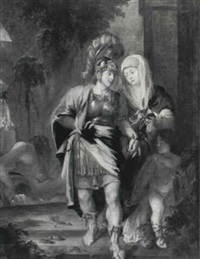 aeneas and anchises by johann sterenberg
