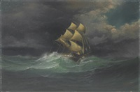 caught in a gale by herman r. dietz
