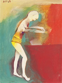 figure at basin by anne marie hall