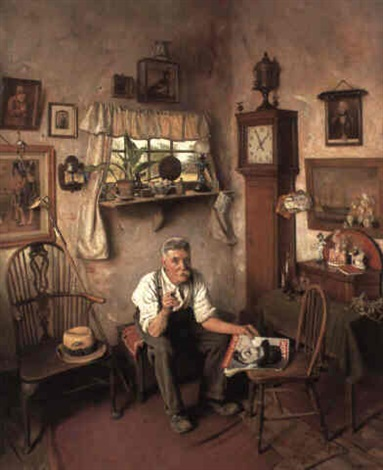 Hes worth framing by Charles Spencelayh on artnet