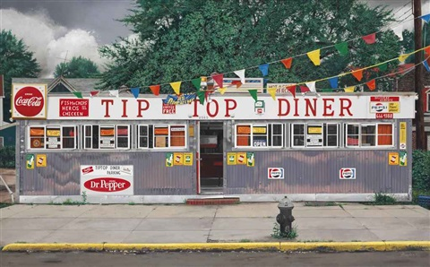 tip top diner by john baeder