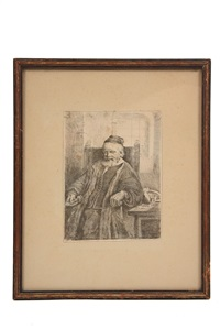 portrat of jan lutma, goldsmith by pieter harmensz verelst