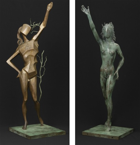 homage to terpsichore (set of 2) by salvador dalí