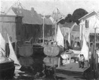 wharf view by irma renee koen