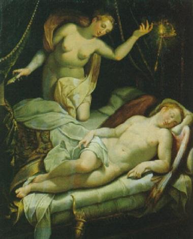 venere e cupido dormiente by jacopo zucchi