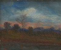 paesaggio al tramonto by nicola laurenti