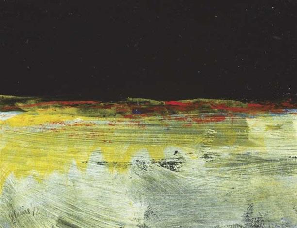 night on the burren diptych by gerald davis