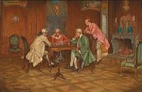 beim schachspiel by james devine aylward