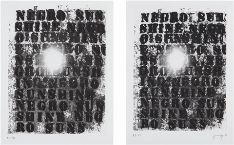 untitled diptych by glenn ligon