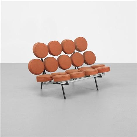 Marshmallow Sofa, Model 5670 By George Nelson U0026 Associates