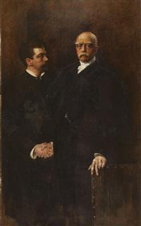 bismarck and his doctor scherzinger by joszi arpad koppay