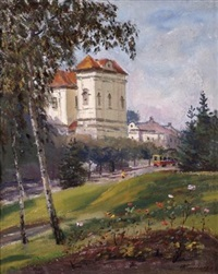 landscape in ukraine by nicolai alexandrovitch bunder