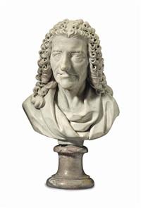 bust of voltaire by peter anton von verschaffelt
