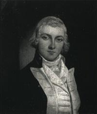 portrait of a naval officer by richard livesay