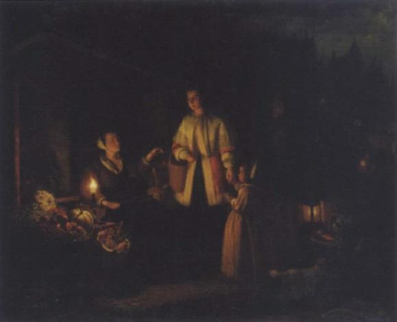 the fruit seller by johannes christoffel vaarberg