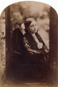 jeune femme dans un miroir by oscar gustave rejlander