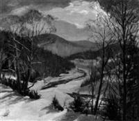 golden river, huntington, mass. by raymond a. ewing