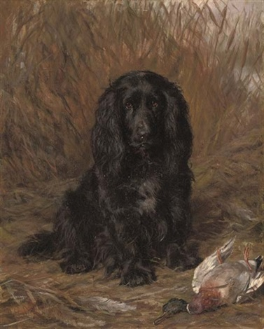 a well behaved spaniel another 2 works by david george steell