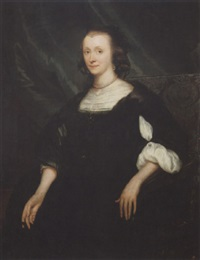 portrait of lydewina teding van berkhout by jan de baen