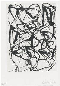 han shan exit 1 by brice marden