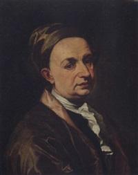 ritratto di gentiluomo con turbante by salomone adler
