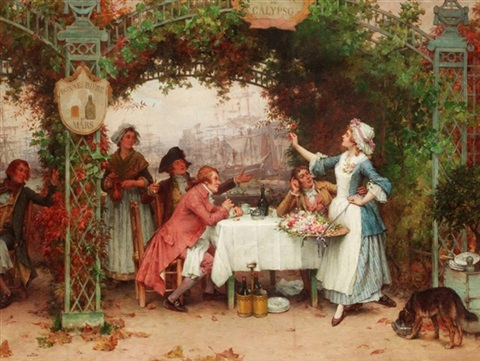 the flower seller by pierre outin