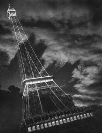 tour eiffel, superposition by pierre boucher