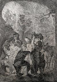 die anbetung der hirten by johann evangelist holzer