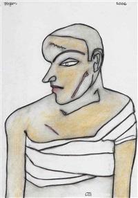 untitled - i (man) by jogen chowdhury