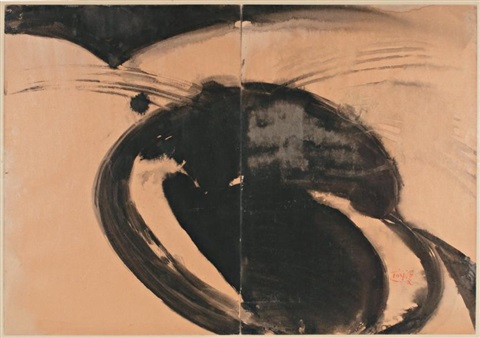 composition diptych by tang haywen