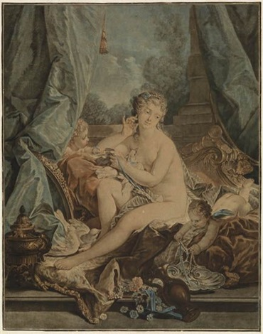 la toilette de vénus after boucher by jean françois janinet