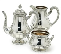 kaffeegarnitur (set of 3) by ferdinand vogel
