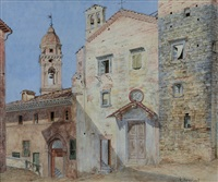 chiesetta di paese by frans vervloet