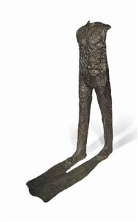 caminando con ombre (walking with shadow) by magdalena abakanowicz