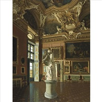 inside the pitti palace by antonio maria aspettati