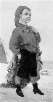 le petit pêcheur by lucien pierre sergent