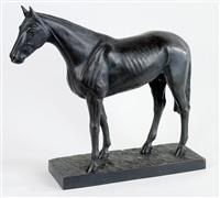 stehendes pferd by hans guradze