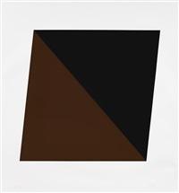 black/brown by ellsworth kelly