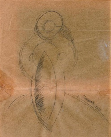 composition by antoine pevsner