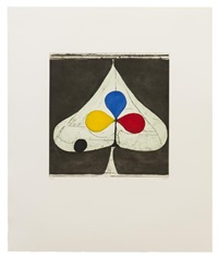 tricolor ii (from the clubs and spades series) by richard diebenkorn