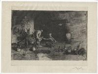 herrero marroquì (maréschal ferrant au maroc) by mariano josé maría bernardo fortuny y carbó