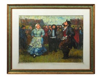 jewish couple dancing by tully filmus