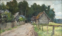 peasant view by abram efimovich arkhipov