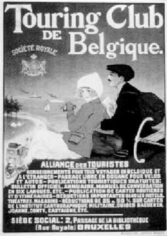 touring club de belgique société royale alliance des touristes by jean droit