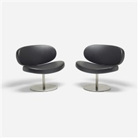sunset lounge chairs (pair) by christophe pillet
