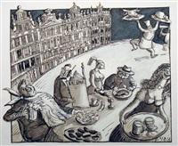 repas à bruxelle by daniel maja