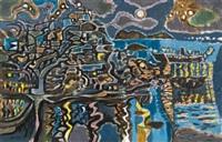 nocturnal hydra by nicolas ghika