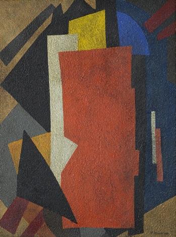 composizione cubo suprematista by liubov popova