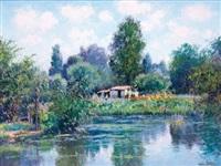 jardin à bourges by maurice lemaître